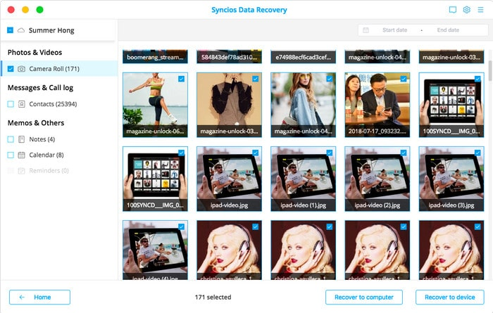 preview downloaded iCloud photos