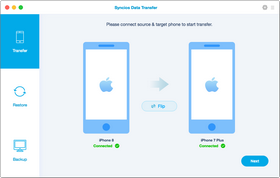 Check Files to Transfer from Android to iPhone