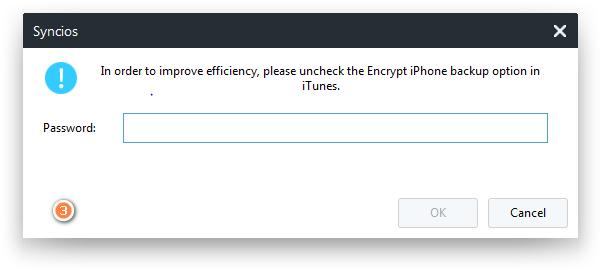do i need to encrypt my iphone backup
