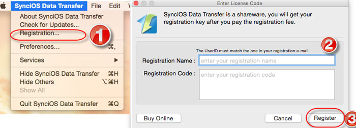 syncios data transfer registration code