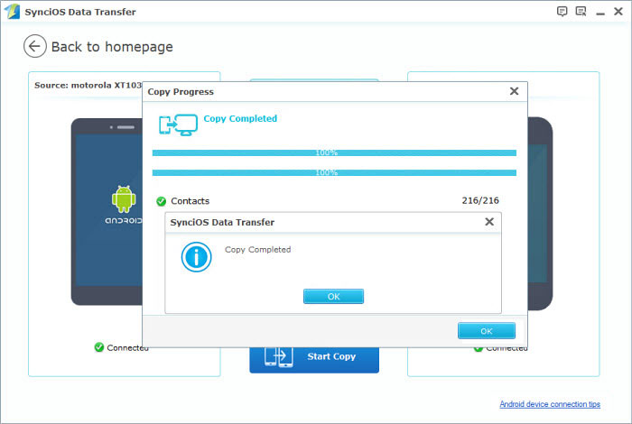 How To Transfer And Sync Your Iphone Contacts With Android ...