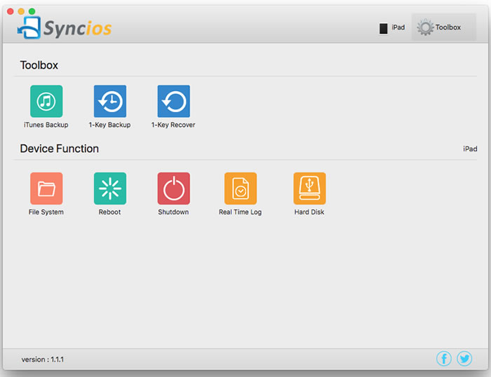 Syncios Manager for Mac V1 1 1 Released - Fully Compatible