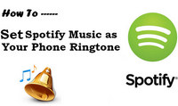 Set Spotify music as phone ringtone