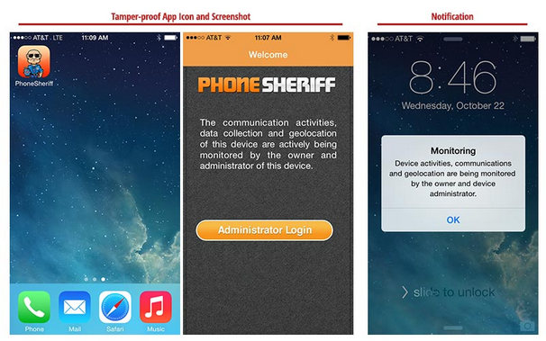 phoneSheriff parent control software