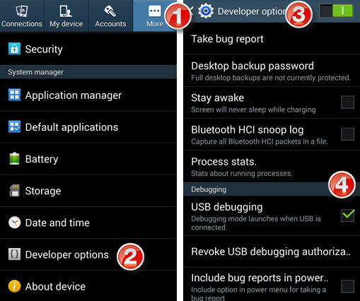 Move Data From Samsung Galaxy Note 2 3 To Note 4 Note Edge