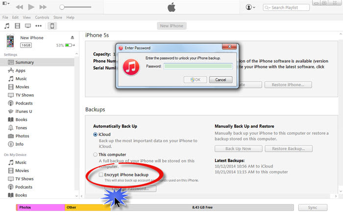 how do you back up your iphone how to uncheck the encrypt iphone backup option in itunes 19731